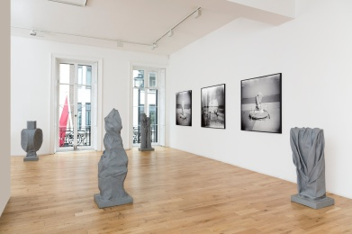 Installation view of Ziad Antar - 'Liminal places and things' Almine Rech Gallery London, Savile Row April 12 - May 10, 2017 Courtesy of the Artist and Almine Rech Gallery Photo: Melissa Castro Duarte