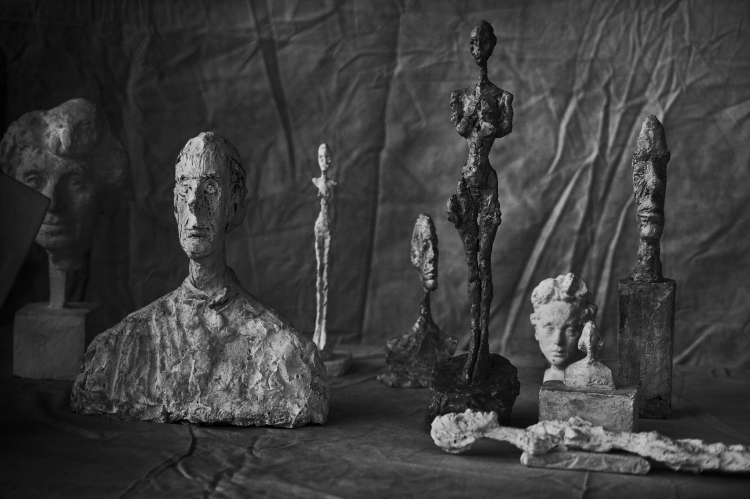 LINDBERG Alberto Giacometti, Group Of Nine, Zurich 2016, 2016_Gagosian