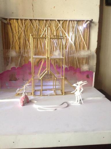 Armine's set design for A Midsummer Night's Dream