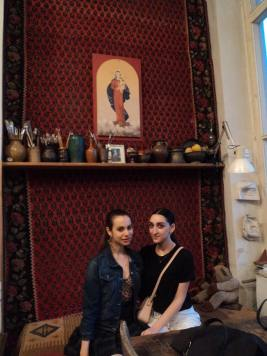 Gallery Girl and Armine