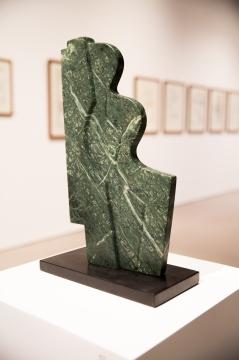 Woman/River, 2004, granite