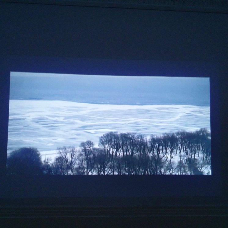 We Began By Measuring Distance, Basma Alsharif, 2009, video still.