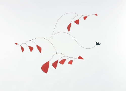 Alexander Calder, Little Black Flower, 1944. Image courtesy Ordovas Gallery