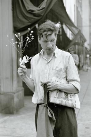 Louis Faurer, Eddie, New York, NY, 1948, 1948. Image courtesy Ordovas Gallery