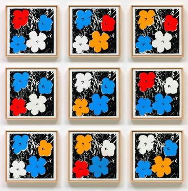 Richard Pettibone, Andy Warhol, 'Flowers', 1965, 2011-2018. Image courtesy Ordovas Gallery
