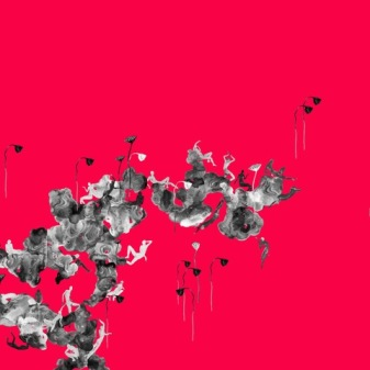 Lotus Eater, Meng Zhou, wallpaper, 850 x 280 cm, 2018