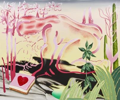 The Awakening, Jane Hayes Greenwood, acrylic and oil on canvas, 160 x 180 cm, 2018