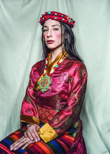 Kesang Ball, London 2018. © Nyema Droma and Pitt Rivers Museum
