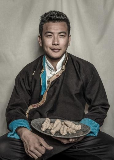 Tenzin Nyendak, 2018. © Nyema Droma and Pitt Rivers Museum