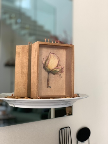 Box of Rose, Mai Al Moataz, 2018. Image courtesy of the artist