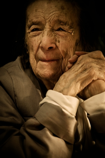 Photograph by Scott Douglas of Louise Bourgeois, Issue 2, 2010