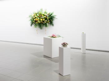 Kapwani Kiwanga, Flowers for Africa, 2019, Grace Wales Bonner: A Time for New Dreams (Installation view, 18 January – 16 February 2019, Serpentine Galleries) © 2019 readsreads.info