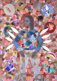 Jamea Richmond Edwards, Untitled (From Fly Girl Series), 2019, 213.36 cm x 152.4 cm