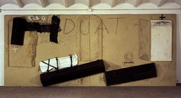 Antoni Tàpies, Duat, 1994, 250 x 600 cm