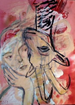 Lovers, Neda Tevallaee, 2019