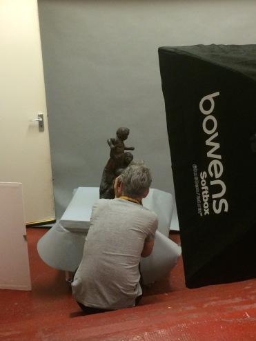 photo-shoot for Art UK
