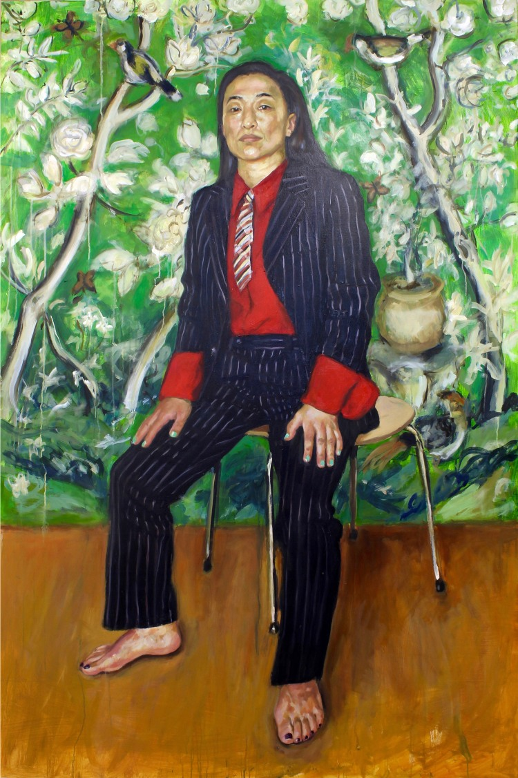Little boy's suit_183cm x 122cm_oil on canvas_ may 2018 copy