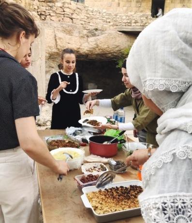 Imagining Home workshop, facilitated by Lizzy Vartanian Collier with Leen Jarrar, Darat Al Funun, Amman, Jordan, September 2019